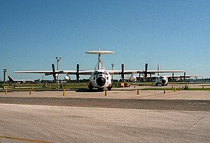 EC-130V front view at CGAS Clearwater 1993.JPEG