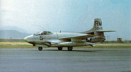EF-10B Skyknight of VMCJ-1 - Douglas F3D Skyknight