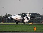 EI-RJU Cityjet British Aerospace Avro RJ85, takeoff from Schiphol (EHAM-AMS) runway 36L pic1.JPG