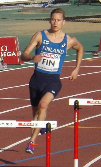 Oskari Mörö - Mörö at the 2015 European Team Championships