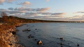Tallinn Bay - Image: EU EE TLN Pirita Pirita beach in autumn