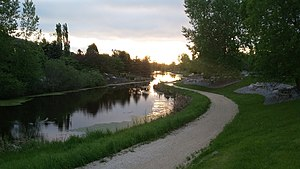 Rural Municipality of East St. Paul - Image: Eagle Creek East St Paul Mb