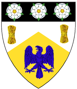 History of the East Riding of Yorkshire - The coat of arms of the East Riding County Council, granted in 1945 and used until 1974.