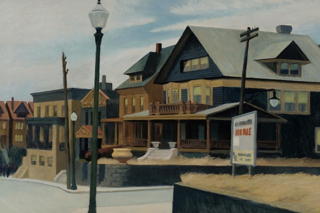 <i>East Wind Over Weehawken</i> Painting by Edward Hopper