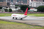 Easter Jet Boeing 737-883 HL8289 Departing from Taipei Songshan Airport 20150321e.jpg
