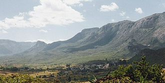 Eastern Highlands - Northern part of the Eastern Highlands range as seen from Nyanga town.