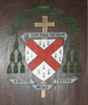 Ecclesiastical heraldry of Pont-n Abad Brittany.png