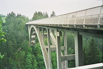 Hochtief - Echelsbach Bridge, completed 1929