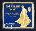 Ed Laurens Tanagra cigarette tin, front.JPG