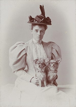 English: Photograph of writer Edith Wharton, t...