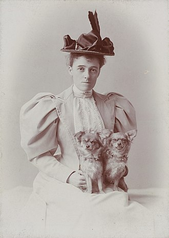 Edith Wharton - Edith Wharton, c. 1889