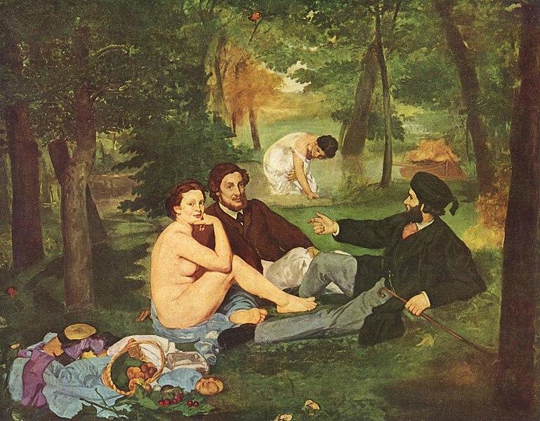 Эдуард МанеЗавтрак на траве. 1863