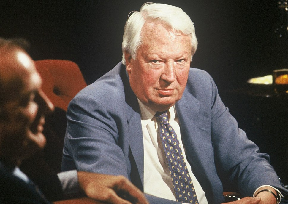 Edward Heath appearing on 'After Dark', 10 June 1989