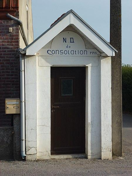 Eecke (Nord, Fr) oratoire N.D. de Consolation