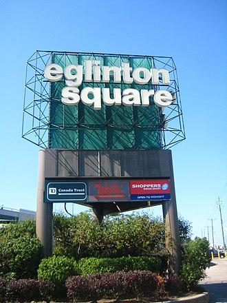 Eglinton Square Shopping Centre - Image: Eglinton Square