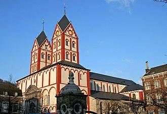 Collegiate Church of St. Bartholomew - St. Bartholomew Church in 2006