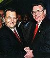Ehud Barak and Peter King.jpg