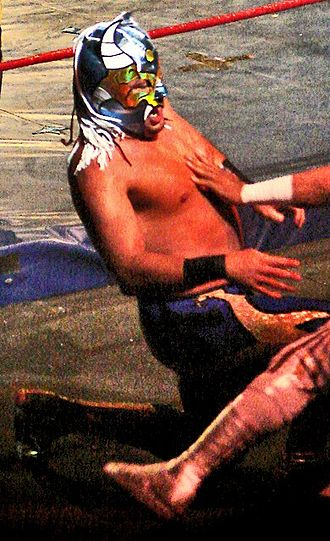 Averno (wrestler) - Averno during a match