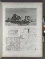 El Kab (Elethyia). 1.2. Plans des ruines et des environs; 3.4. Vue et plan particulier des édifices (NYPL b14212718-1267895).tiff