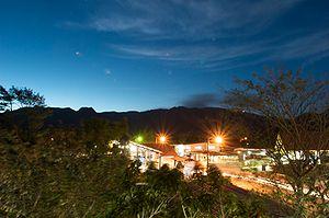 El Valle de Antón - El Valle at night