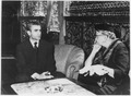 Eleanor Roosevelt and Shah of Iran in Teheran, Iran - NARA - 196186.tif