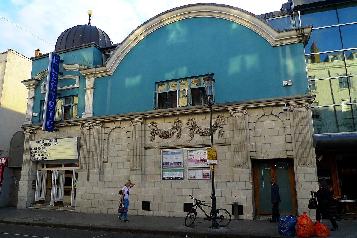Electric cinema notting hill wikipedia for House notting hill