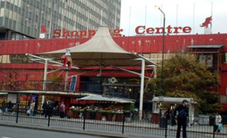 Elephant and Castle - The shopping centre, built in the 1960s and was scheduled for demolition in 2010, but still stands as of January 2018