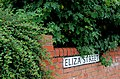 Eliza Street sign, Belfast - geograph.org.uk - 1937659.jpg