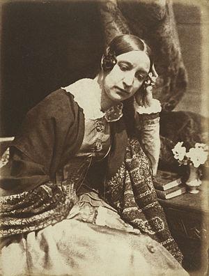 Elizabeth Eastlake - Elizabeth Rigby, the future Lady Eastlake, photographed about 1847 by Hill & Adamson