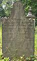 Elizabeth Jeffery Tombstone, Bethany Cemetery, 2015-06-11, 01.jpg