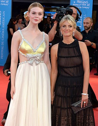 Galveston (film) - Lead actress Elle Fanning and director Mélanie Laurent promoting the film at the Deauville American Film Festival.