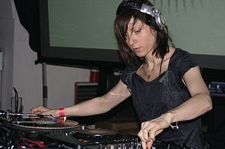 Ellen Allien German electronic musician, music producer