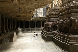 Ellora Caves, India, Kailasanatha Temple 2.jpg