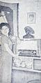 Ellya Rosa and her radio 2 Film Varia Jan 1956 p24.jpg