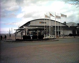 Elmia - Elmia building, north entrance