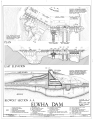 Elwha River Hydroelectric System, Elwha Hydroelectric Dam and Plant, Port Angeles, Clallam County, WA HAER WASH,5-POAN.V,3A- (sheet 2 of 7).png