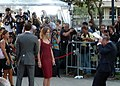 Emily Blunt and John Krasinski at the premiere of Looper, Toronto Film Festival 2012 -14.jpg