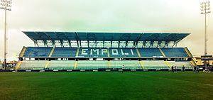 Stadio Carlo Castellani - Image: Empoli maratona dello Stadio Castellani