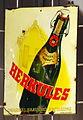 Enamel advertising sign, Herkules Export.JPG