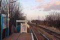 End of platform, Shotton High Level railway station (geograph 3800353).jpg