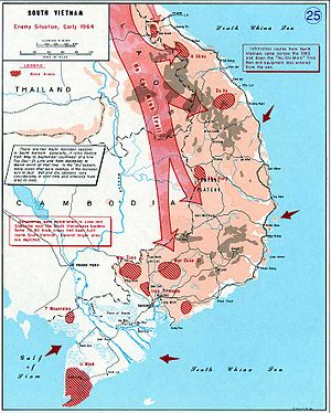 Viet Cong - Situation of the Communist forces in South Vietnam in early 1964