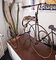 English tricycle, c 1900, Bike Museum, Balassagyarmat.jpg