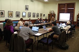 Enhancing the Narrative of DC Public Schools A Wikipedia Editing Workshop 7660.jpg