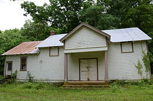 National Register of Historic Places listings in Madison County, Arkansas - Image: Enterprise School