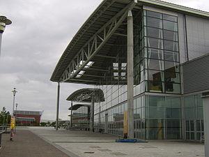 Braehead Arena - Image: Entrance to Braehead Arena