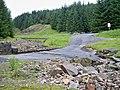 Entrance to Killhope Mine across the ford on Killhope Burn - geograph.org.uk - 1403622.jpg