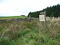 Entrance to Scotch Coulthard - geograph.org.uk - 244666.jpg