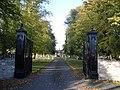 Entranceway to The Mansion, Harrold - geograph.org.uk - 278556.jpg