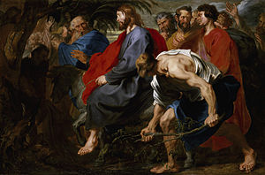 Entry of Christ into Jerusalem (van Dyck) - Image: Entry of Christ into Jerusalem by Anthony van Dyck
