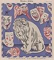 Erich Schilling – Müncher Fasching (Munich Carnival, lion, masks) 1926 Satirical cartoon No known copyright (low-res).jpg